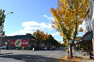 Cottage Grove, Oregon - Cottage Grove Historic District