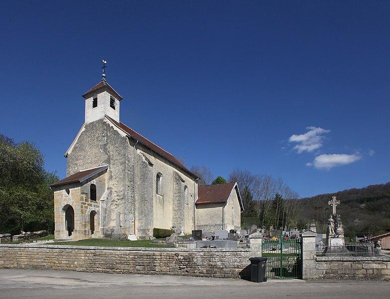 Église de Coulans-sur-Lison (Doubs).