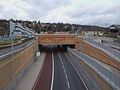 Coulsdon Relief Road look north to Smitham stn.JPG
