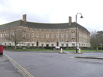 Taunton - County Hall, The Crescent