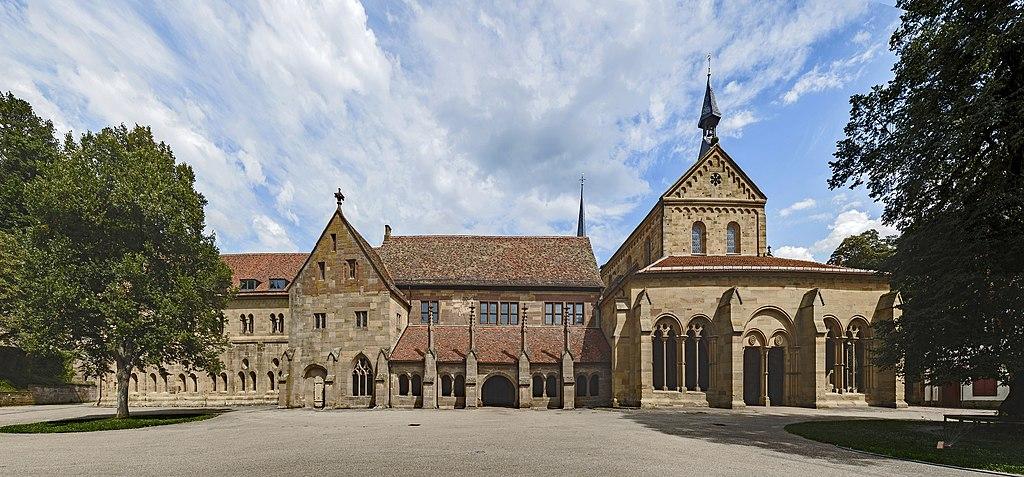 Courtyard facade - Maulbronn Monastery