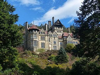 Cragside Victorian country house near Rothbury in Northumberland, England