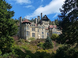 Rothbury - Cragside (photographed in 2016)