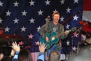 Craig Morgan - Craig Morgan performing for the USO, March 20, 2007