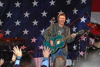 Craig Morgan - Craig Morgan performing for the USO, March 20, 2007