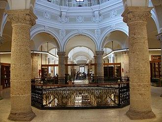 Public Library of Valencia - Image: Creuer de l'antic Hospital General de València, actual Biblioteca Pública
