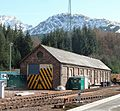 Crianlarich Station, old locomotive shed, West Highland Line, Scotland.jpg