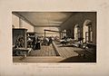 Crimean War; Florence Nightingale at Scutari Hospital. Tinte Wellcome V0015436.jpg