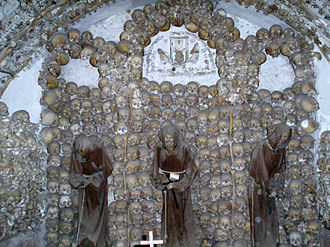 Order of Friars Minor Capuchin - The remains of 4,000 friars adorn the ossuary of the Santa Maria della Concezione