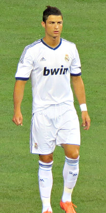 Cristiano Ronaldo vs AC Milan, August 2012 at Yankee Stadium.jpg