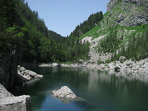 Black Lake (Triglav Lakes Valley) - Black Lake (Črno jezero)