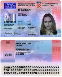 Croatian Identity Card Wikipedia