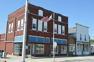 Bradner, Ohio - Crocker Street downtown