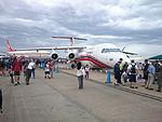 Crowds on the second public day at the 2015 Australian International Airshow 10.jpg