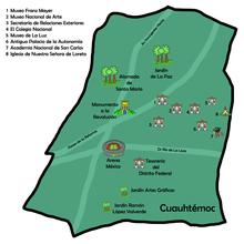 Cuauhtmoc Ciudad de Mxico  Wikipedia la enciclopedia libre