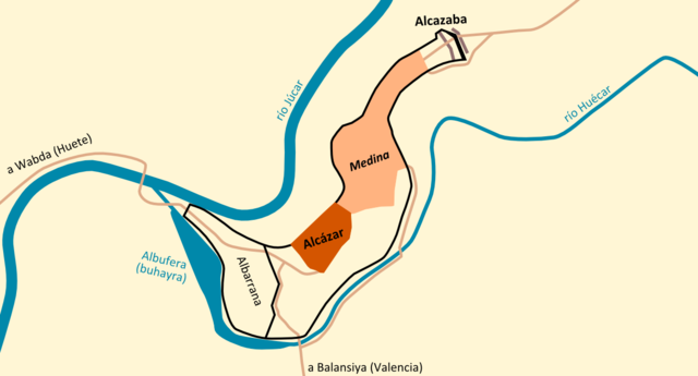 Resultado de imagen de castillo de cuenca en periodo musulmán