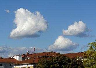 Cumulus cloud - Some cumulus mediocris clouds