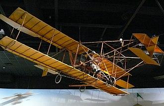 Cradle of Aviation Museum - Image: Curtiss Golden Flyer replica
