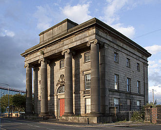 Eastside, Birmingham - Built in 1838, Curzon Street Station in Birmingham is the oldest surviving railway terminus building in the world.