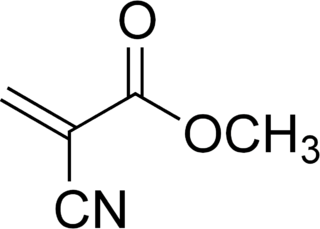 Cyanoacrylate group of chemical compounds