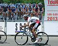 Cyclist from Azerbaijan competing at Tour d'Azerbaïdjan 2013.jpg