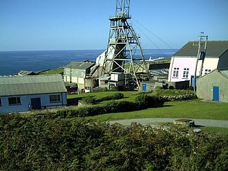 Cornwall and West Devon Mining Landscape - Geevor Tin Mine near St Just, Cornwall
