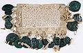 Déclaration de forfaiture rendue par les barons français contre le Comte de Bretagne Pierre Mauclerc. - Archives Nationales - AE-II-231.jpg