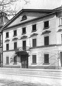 Hofgartenstraße 8, Sterbehaus von Friedrich Wilhelm von Schadow (Quelle: Wikimedia)