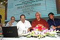 D.V. Sadananda Gowda launching the passenger friendly IT initiativesApplications developed by Centre for Railway Information System (CRIS), an autonomous organization under the Ministry of Railways, at a function.jpg