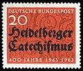 DBP 1963 396 400J Heidelberger Katechismus.jpg