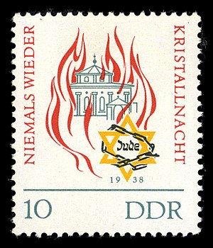 DDR - Niemals wieder Kristallnacht