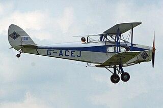 de Havilland Fox Moth Light transport biplane developed by de Havilland in the UK in the early 1930s