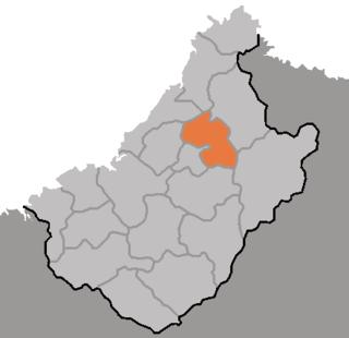 Changgang County County in Chagang Province, North Korea