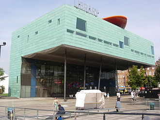 Peckham Library - Winner of the Stirling Prize for Architecture
