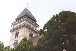 Dačice-church tower.jpg