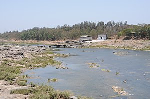Daman Ganga River - Damanganga river in Silvassa, Dadra and Nagar Haveli, India