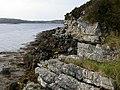Dalradian quartzites, Illanfreagh - geograph.org.uk - 2079924.jpg