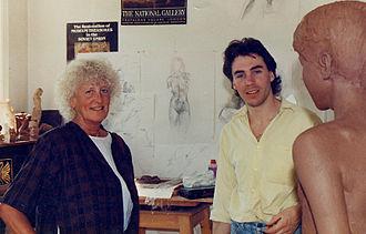 Elisabeth Frink - Sculptors, Dame Elisabeth Frink and John McKenna
