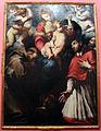 Daniele crespi, madonna col bambino in gloria adorata da i ss. francesco, carlo borromeo e un donatore, 1620-30 circa, da cappella sottocasa a bg 01.JPG