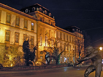 Grand Duchy of Hesse - Residenzschloss (city palace) of the Grand Dukes in Darmstadt