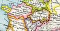 Das Frankenreich zwischen 450 und 476 sowie südlich und östlich angrenzende Gebiete.jpg