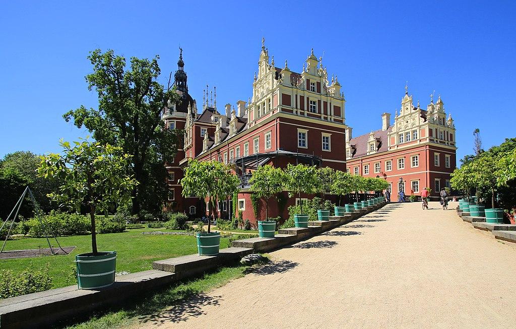 Neues Schloss im Muskauer Park (Fürst-Pückler-Park)