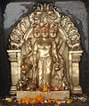 Dattatreya at Saptashrungi (cropped).JPG