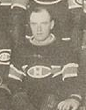Dave Ritchie (ice hockey) - Dave Ritchie pictured with the 1925–26 Montreal Canadiens team