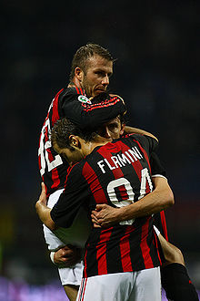 David Beckham of AC Milan, April 19, 2009.jpg