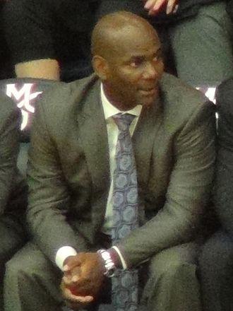David Carter (basketball) - Carter in 2016 at McKeon Pavilion.