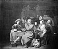 David III Rijckaert - Peasants Merrymaking in a Tavern - KMSsp282 - Statens Museum for Kunst.jpg