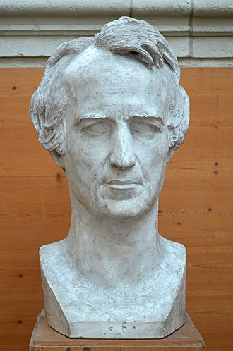 Christian Daniel Rauch - Bust of Christian Daniel Rauch by David d'Angers (1834)