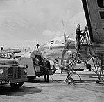 De Douglas DC-4 Edam met de KLM huisstijl en voorzien van het Edam logo onde, Bestanddeelnr 255-8914.jpg