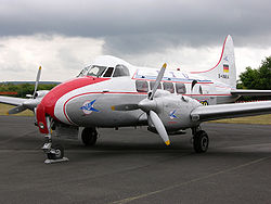 de Havilland Dove der LTU 2005